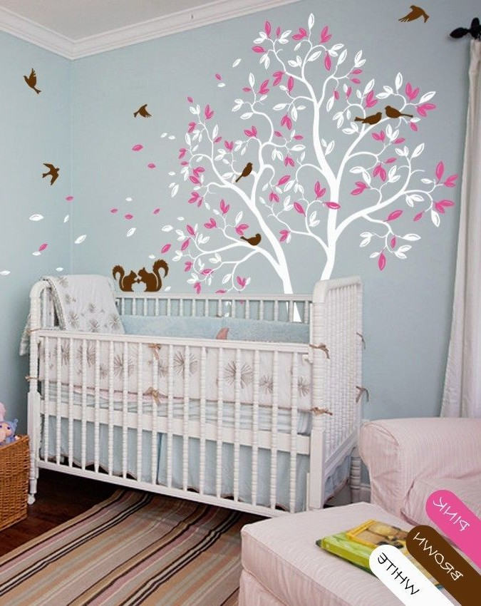 Chambre bb arbre affordable sticker enfant en vinyle for Autocollant mural chambre bb