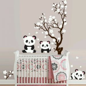 stickers muraux pour chambre b b fille chambre id es. Black Bedroom Furniture Sets. Home Design Ideas