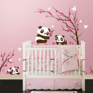 Stickers muraux chambre b b fille chambre id es de - Stickers muraux chambre bebe fille ...