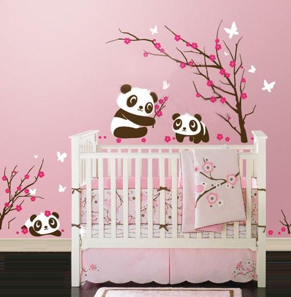 Stickers Muraux Pour Chambre Bébé Fille