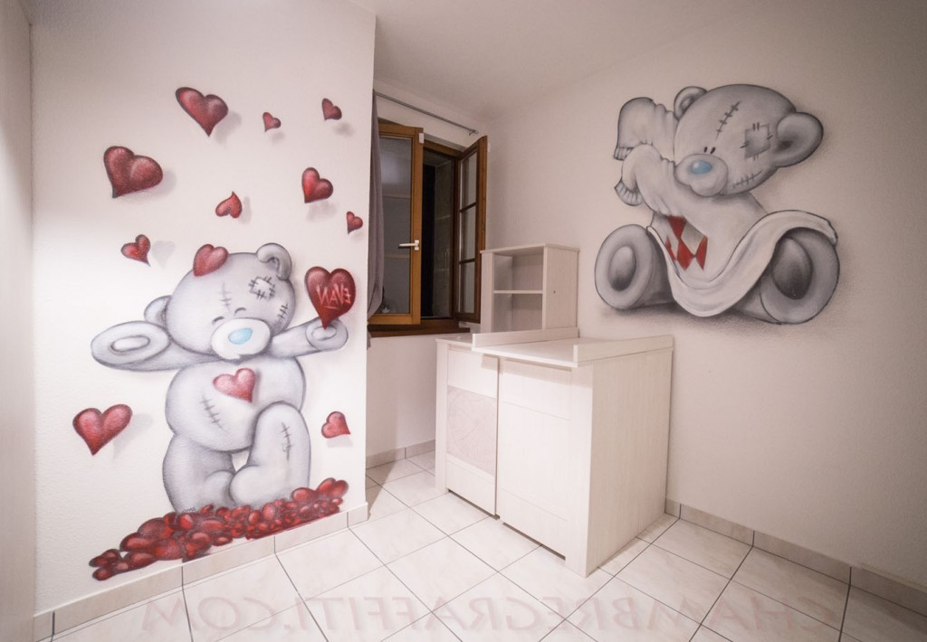 Stunning stickers ours chambre bb with sticker ourson for Autocollant mural chambre bb