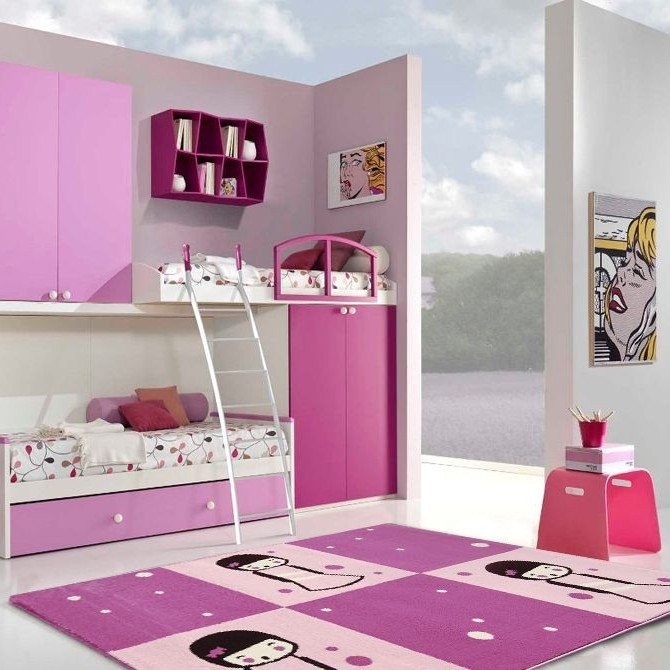 fabulous tapis chambre ado but with chambre bebe fly. Black Bedroom Furniture Sets. Home Design Ideas