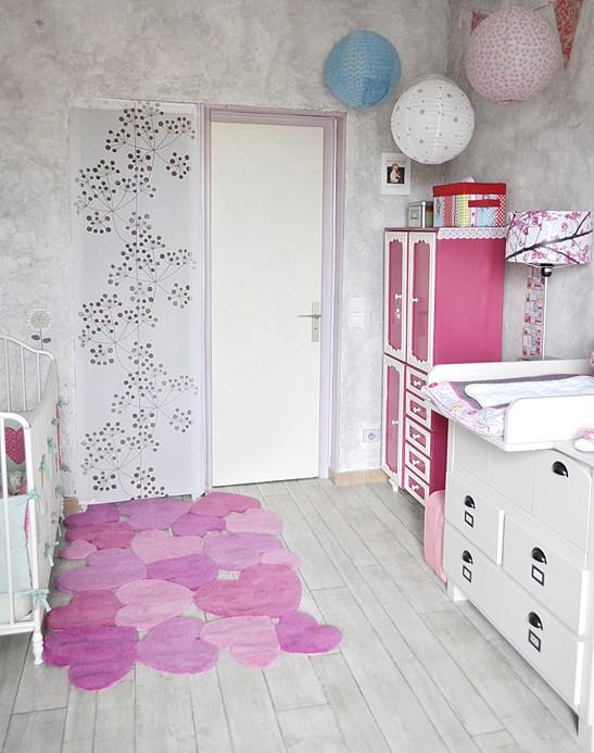 Tapis Chambre Bébé Fille Rose