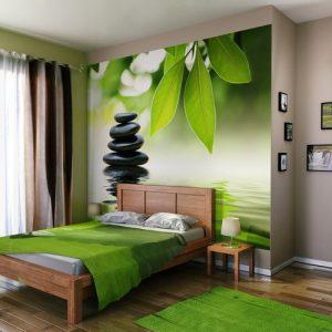 tendance papier peint chambre 2017 chambre id es de. Black Bedroom Furniture Sets. Home Design Ideas