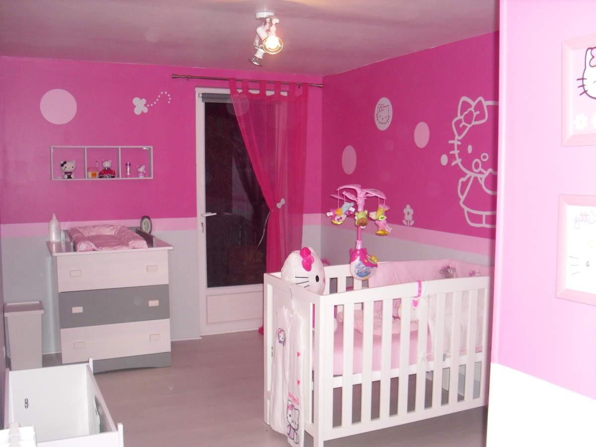 Accessoire chambre b b hello kitty chambre id es de for Accessoire deco chambre