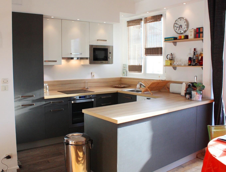 Am nagement petite cuisine ouverte cuisine id es de for Amenagement petite cuisine ouverte sejour