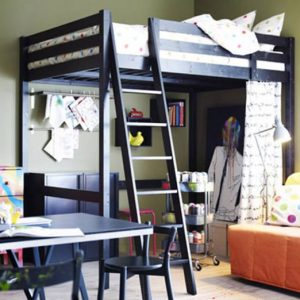 amenager une chambre avec un lit mezzanine chambre. Black Bedroom Furniture Sets. Home Design Ideas