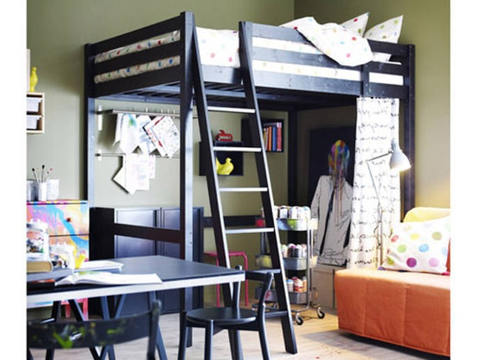 amenagement chambre avec lit mezzanine chambre id es. Black Bedroom Furniture Sets. Home Design Ideas
