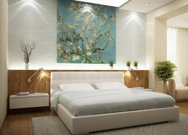 stunning appliques murales chambre adulte photos. Black Bedroom Furniture Sets. Home Design Ideas