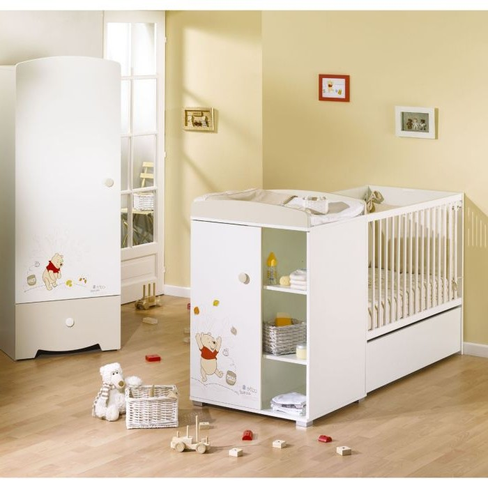 aubert chambre b b winnie l 39 ourson chambre id es de. Black Bedroom Furniture Sets. Home Design Ideas