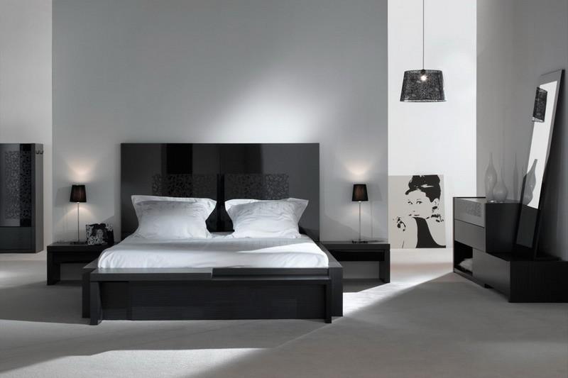 Chambre à Coucher Design Contemporain