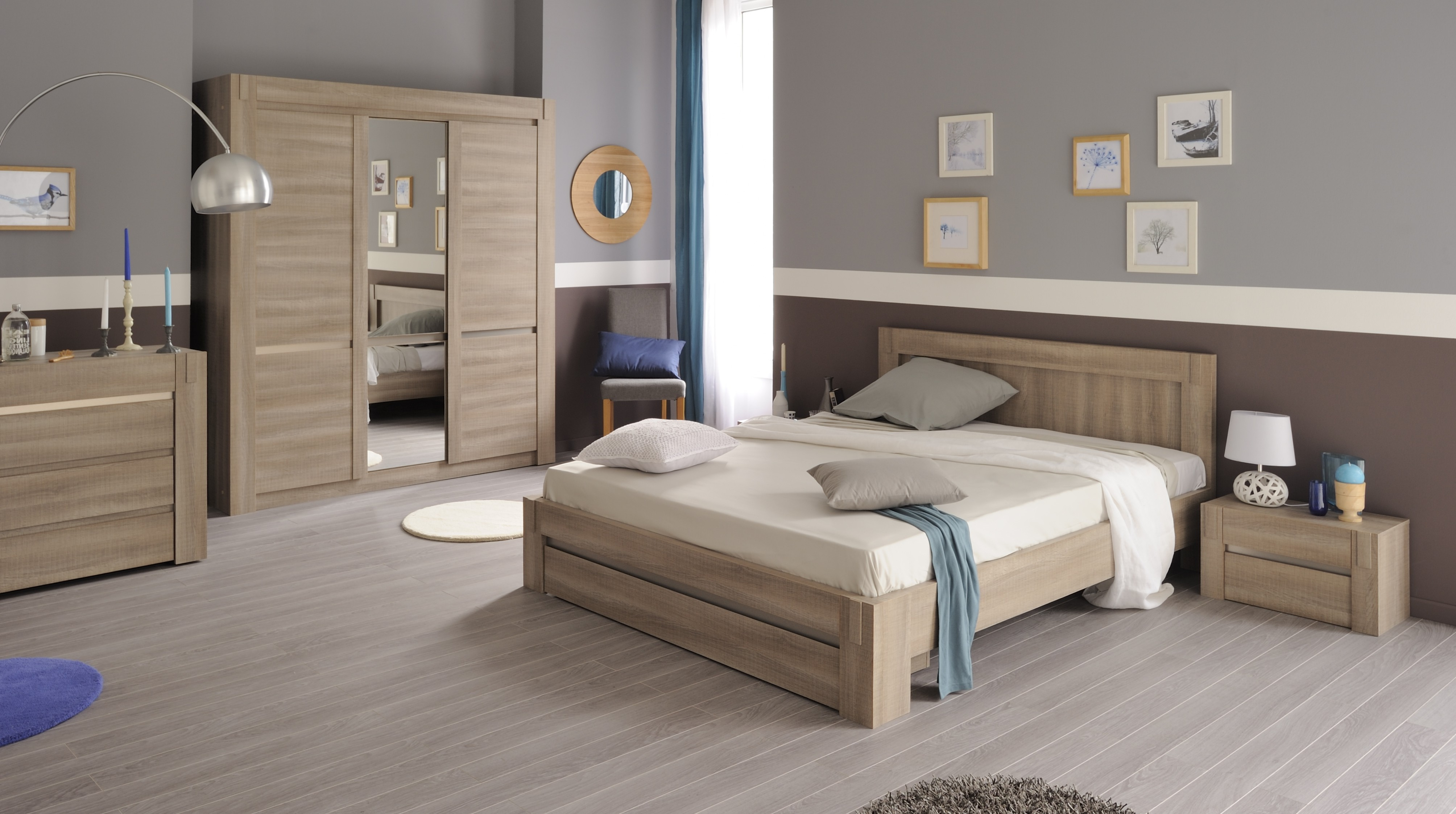Chambre A Coucher Adulte Complete Moderne