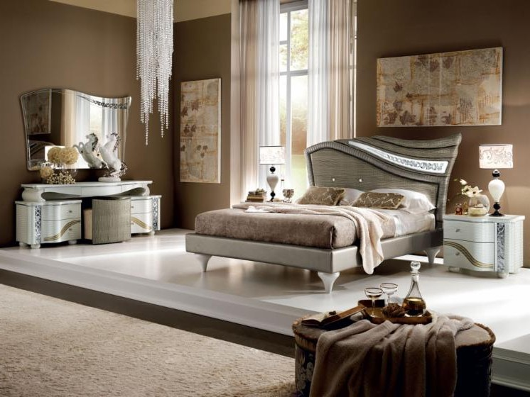 Chambre A Coucher Design Italien