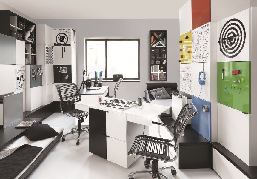 Chambre Ado Garçon Moderne Chambre Idées De Décoration