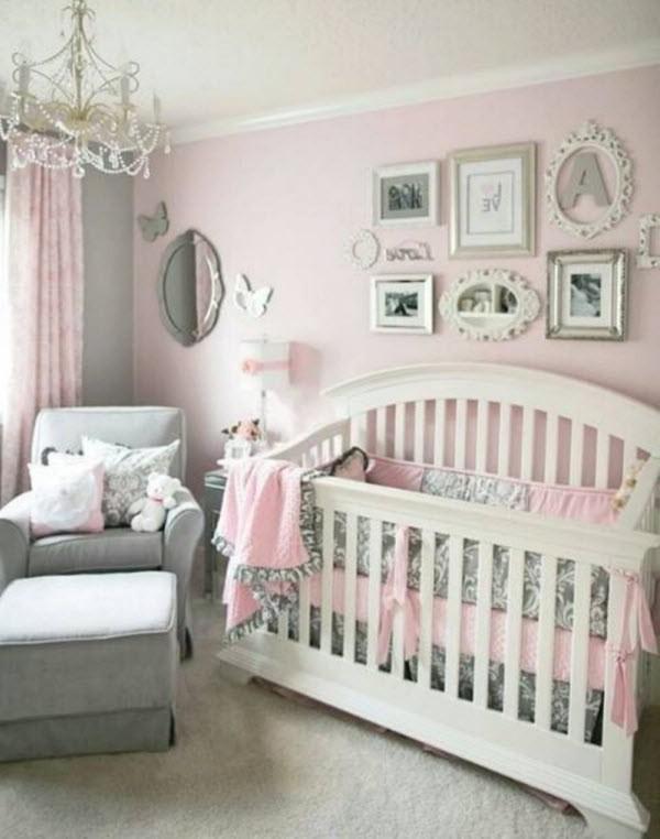 Chambre Bébé Fille Rose Et Gris