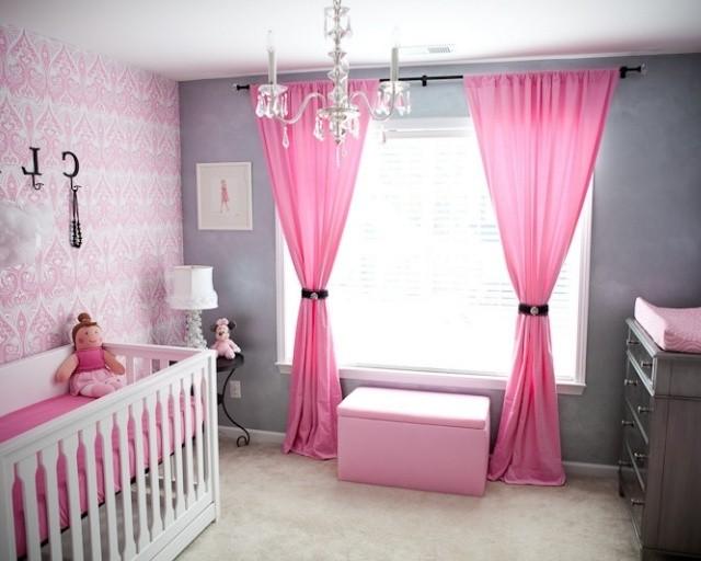Chambre Bébé Fille Rose Et Grise