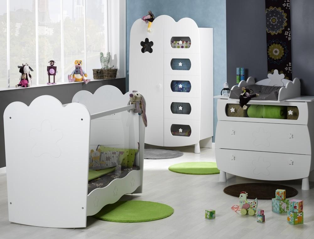 chambre bebe altea blanche chambre id es de d coration. Black Bedroom Furniture Sets. Home Design Ideas