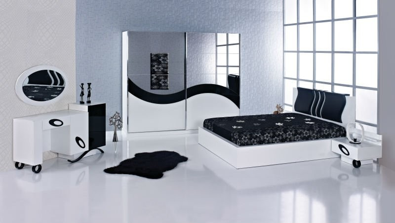 Chambre Coucher Moderne Blanche