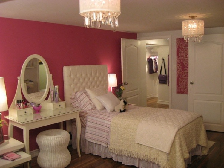 chambre de jeune fille ado chambre id es de d coration. Black Bedroom Furniture Sets. Home Design Ideas