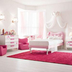 Chambre Fille Blanche - Maison Design - Sibfa.com