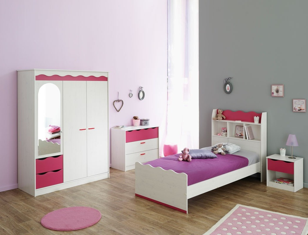 Chambre Fille Rose Et Gris