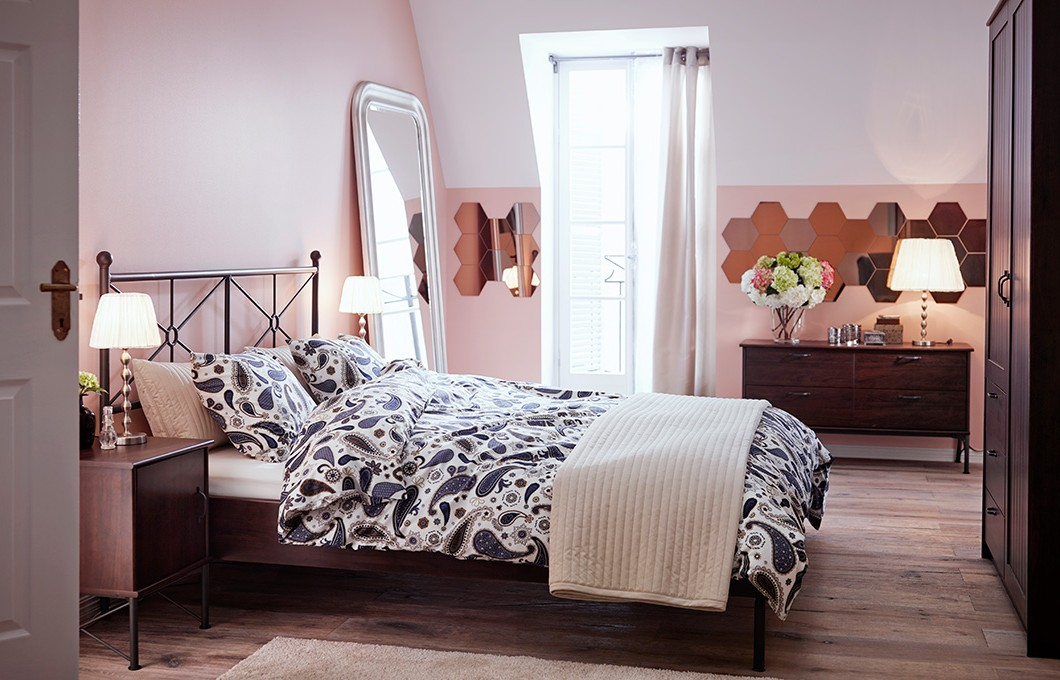 chambres a coucher adultes ikea chambre id es de. Black Bedroom Furniture Sets. Home Design Ideas