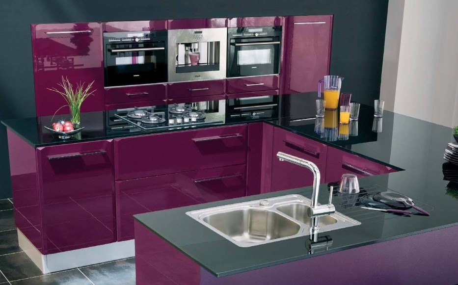 cuisine couleur aubergine ikea cuisine id es de. Black Bedroom Furniture Sets. Home Design Ideas