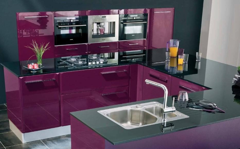 cuisine couleur aubergine ikea. Black Bedroom Furniture Sets. Home Design Ideas