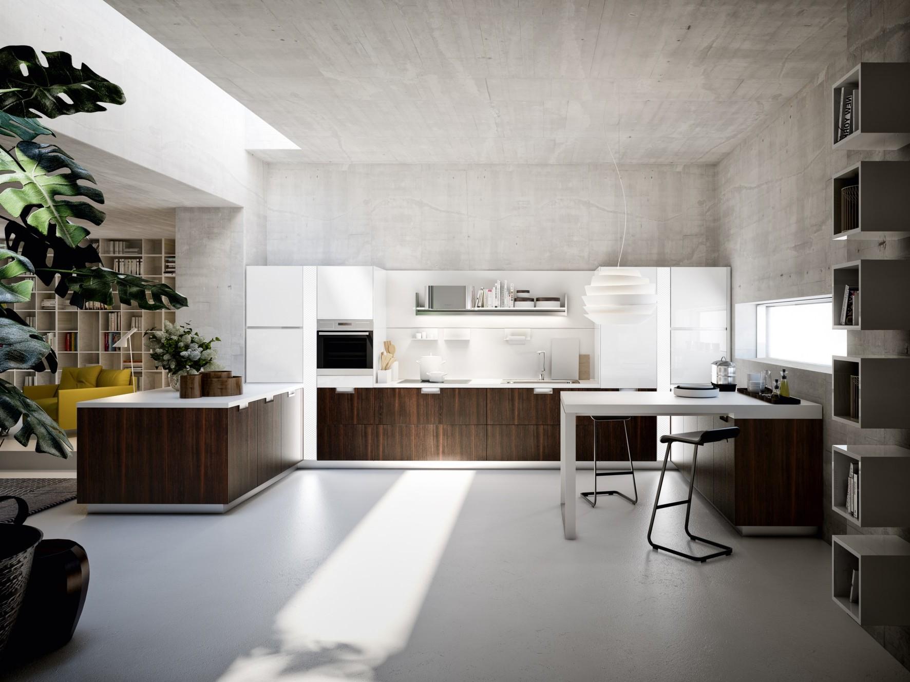 Cuisine Italienne Design Luxe