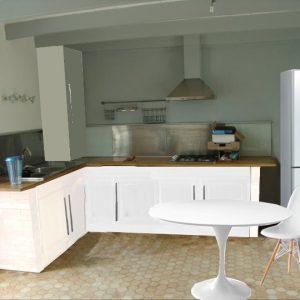 Cuisine laqu e blanche ikea cuisine id es de - Cuisine laquee blanche ikea ...