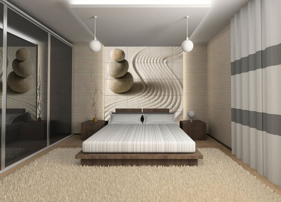 D co chambre adulte zen chambre id es de d coration de for Decoration chambre a coucher contemporaine