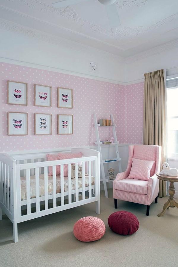 Déco Chambre Bébé Fille Rose Et Gris