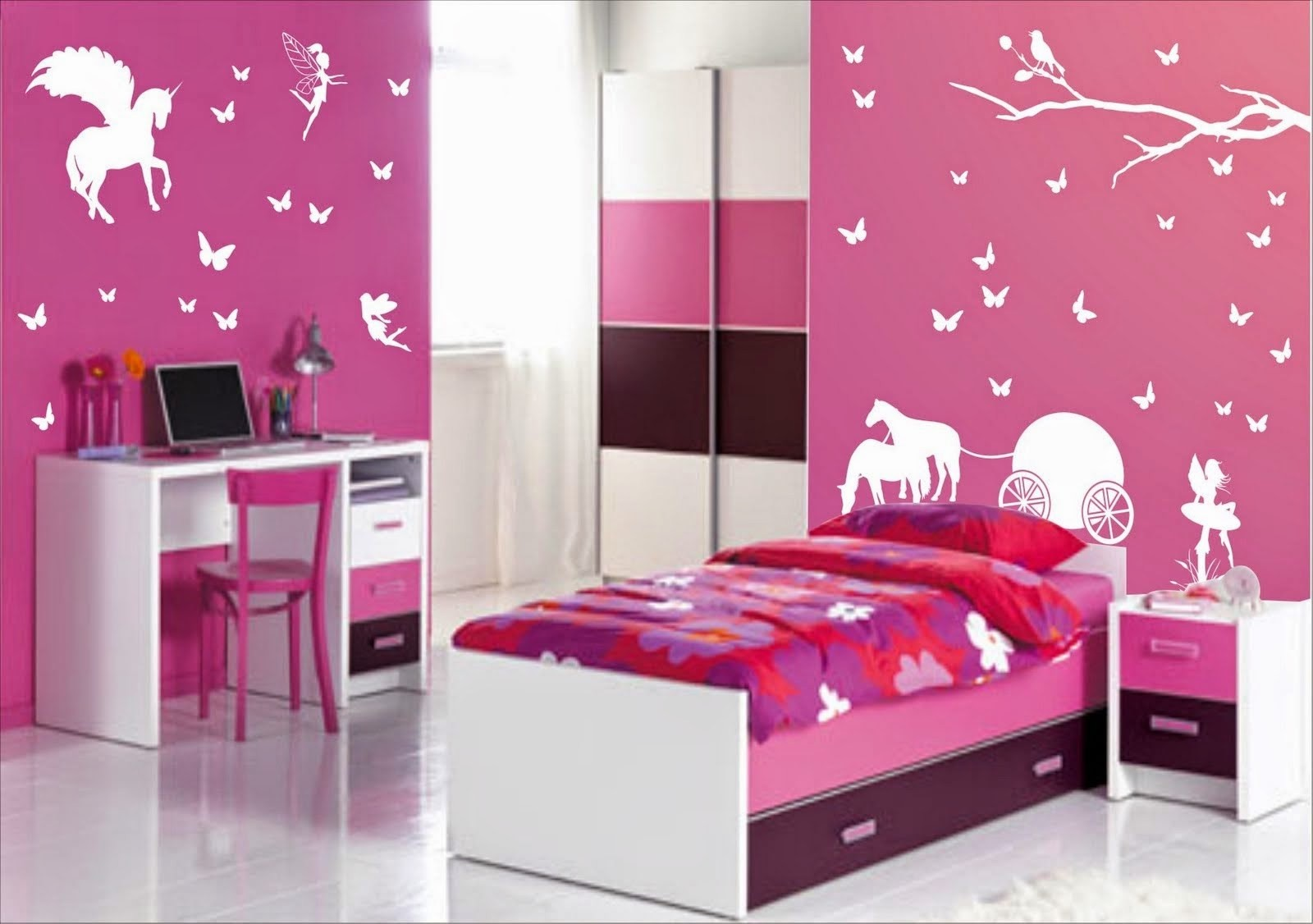 Deco Chambre Fille Ado deco chambre fille lit superposé - chambre : idées de