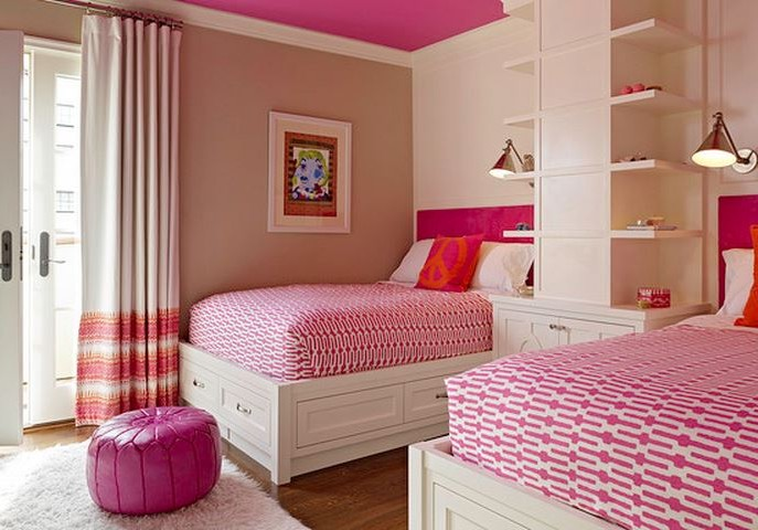 Awesome Chambre Double Pour Fille Photos - Design Trends 2017 ...