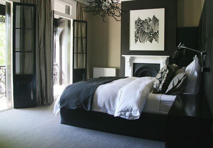 Deco chambre meuble noir chambre id es de d coration for Meuble chambre noir