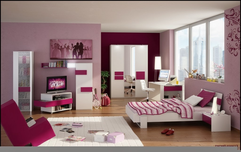 decoration chambre de fille 10 ans chambre id es de. Black Bedroom Furniture Sets. Home Design Ideas