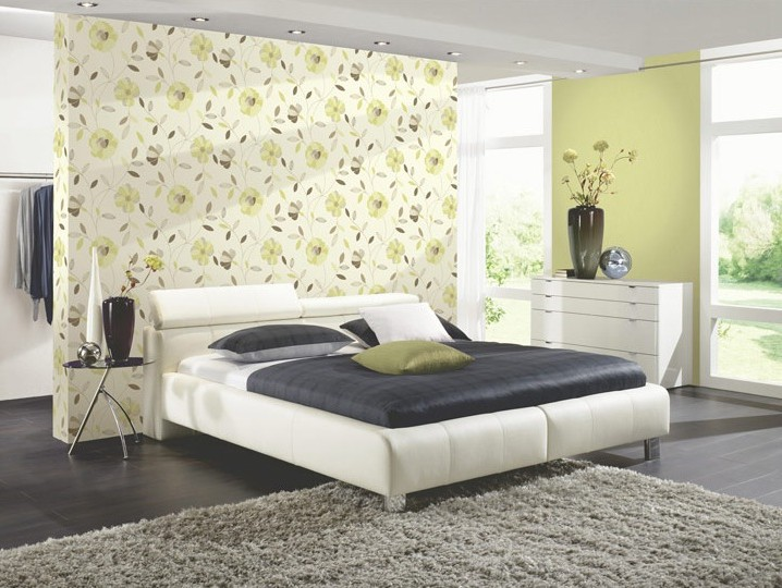 Decoration De Chambre A Coucher Avec Papier Peint