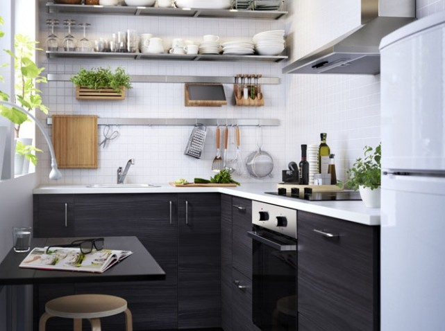 etagere murale cuisine inox ikea cuisine id es de. Black Bedroom Furniture Sets. Home Design Ideas
