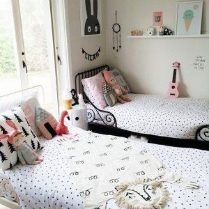 Decoration Chambre Fille Double - Chambre : Idées de Décoration de ...