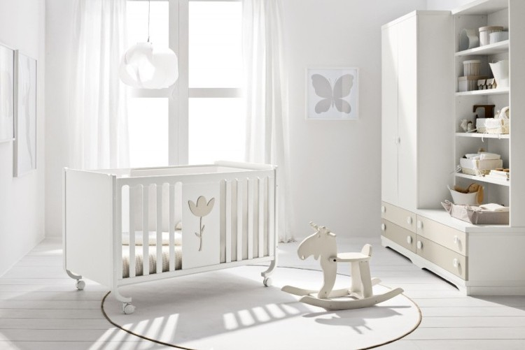 meuble blanc chambre bebe chambre id es de d coration. Black Bedroom Furniture Sets. Home Design Ideas