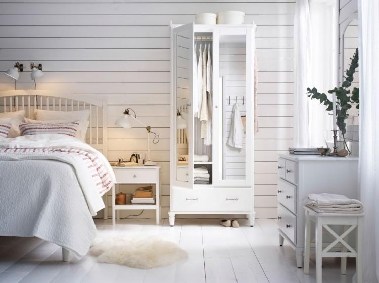 Meubles Chambre Blanc Romantique