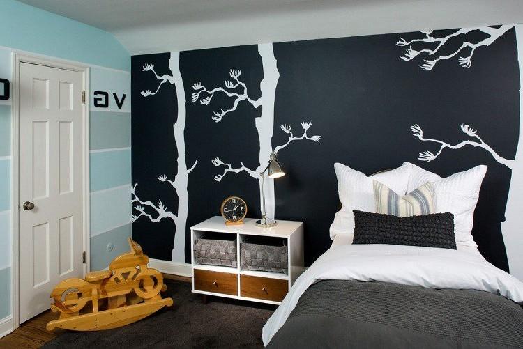 Peinture Murale Chambre à Coucher