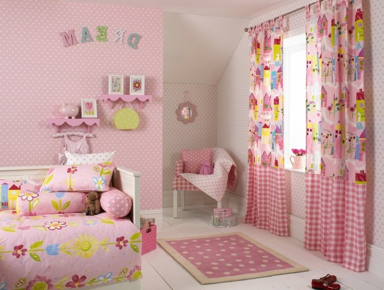 peinture rose pour chambre fille chambre id es de. Black Bedroom Furniture Sets. Home Design Ideas