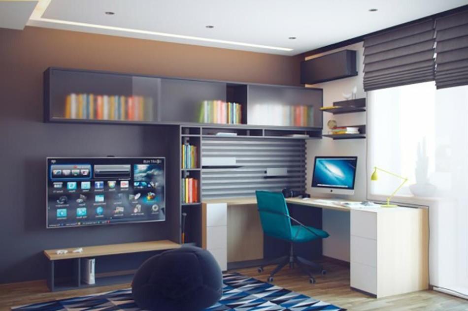 Petit bureau chambre ado chambre id es de d coration for Petit bureau chambre