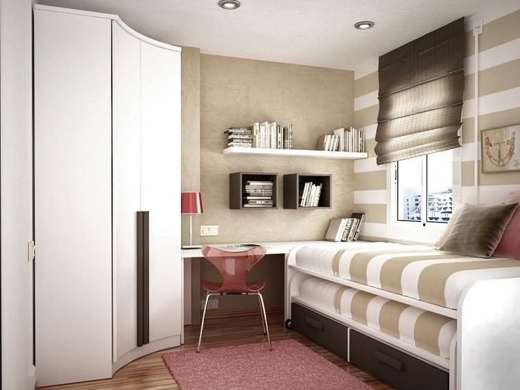 Petit bureau pour petite chambre chambre idées de décoration
