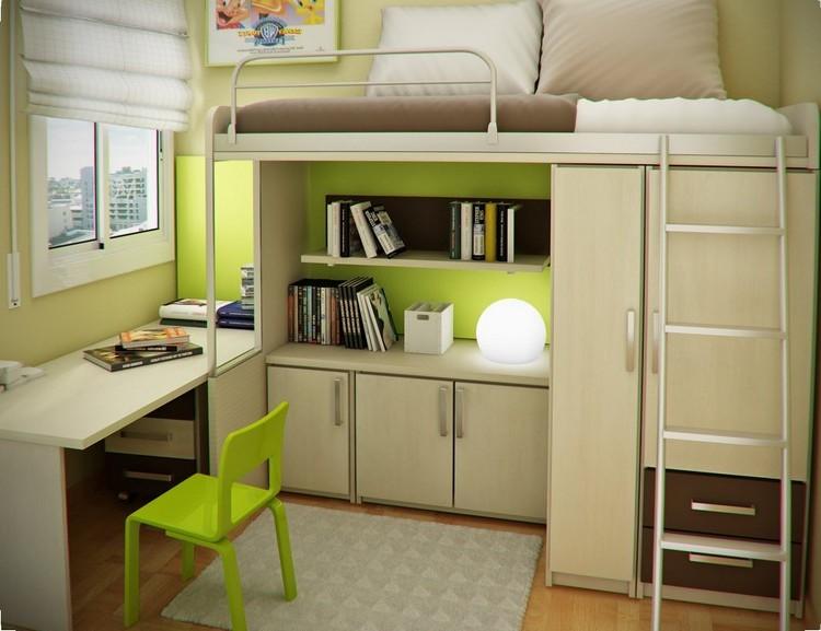 chambre petit espace idee deco chambre garcon ans dco. Black Bedroom Furniture Sets. Home Design Ideas