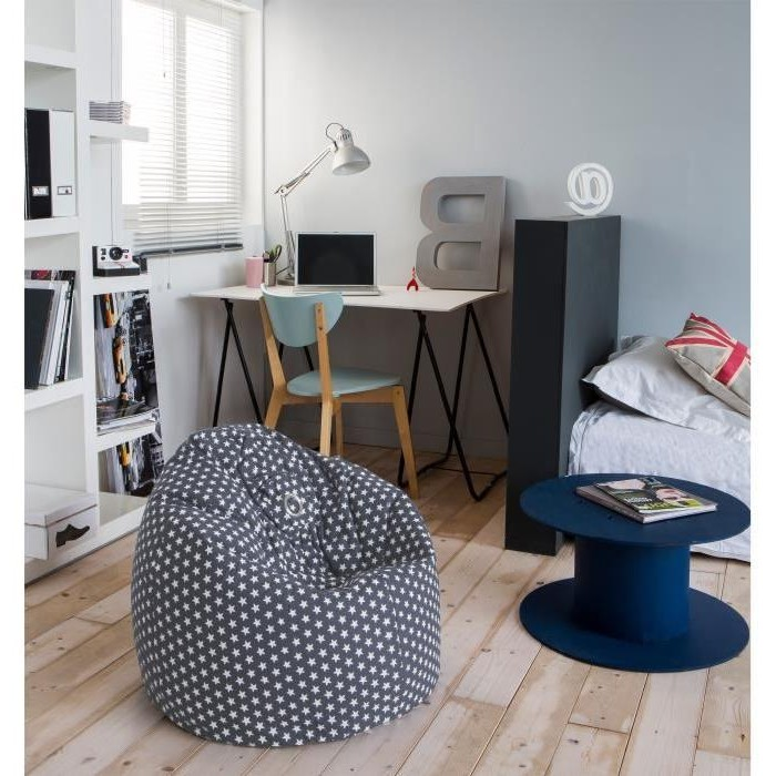 pouf chambre adolescent chambre id es de d coration de. Black Bedroom Furniture Sets. Home Design Ideas