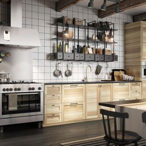 Rangement Mural Cuisine Ikea
