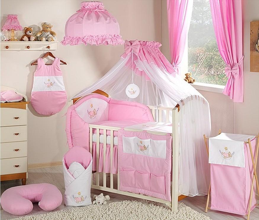 Rideaux Chambre Bébé Fille Rose