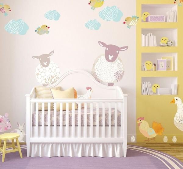 Stickers Muraux Pour Chambre Bébé
